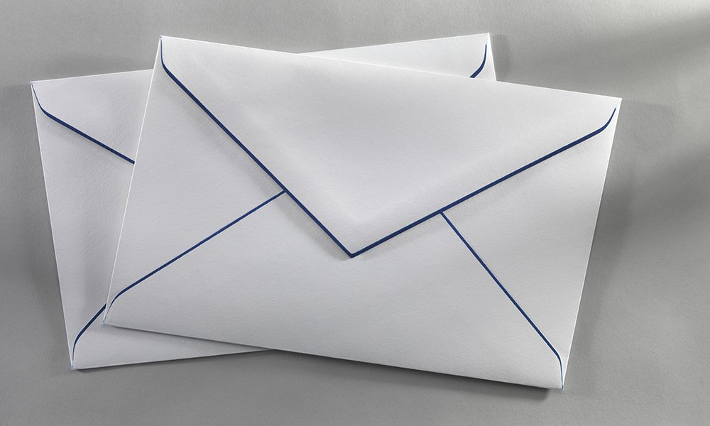 Lined Office Envelopes