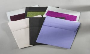 Collection of envelopes in different colours