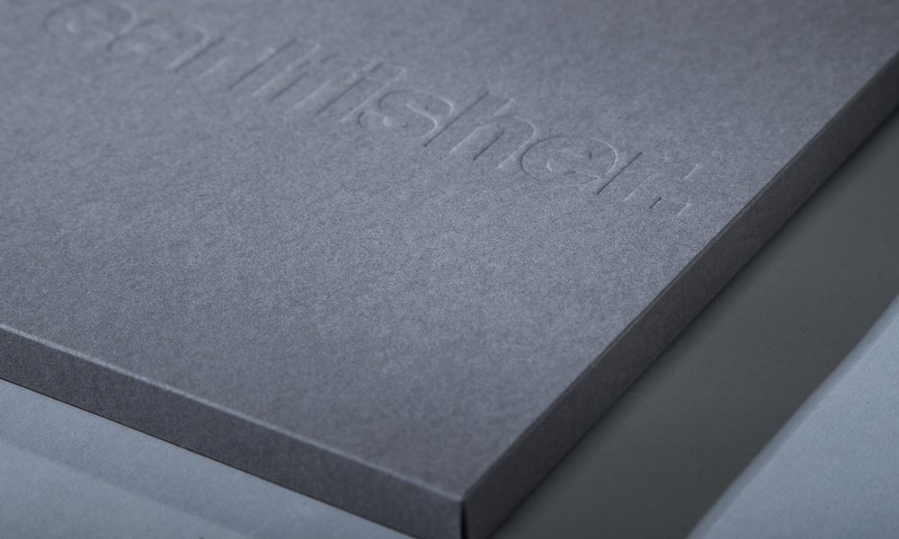 Blind Embossed Cover